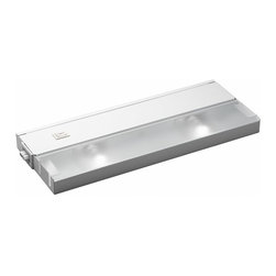KCL - KCL TaskWork Modular 2-Light 20W Xenon Under Cabinet Light X-HW21221 - This Kichler Lighting under cabinet light features a clean White finish that compliments the modular design. It comes with 20 watt xenon bulbs that ensure plenty of crisp, optimal countertop lighting.