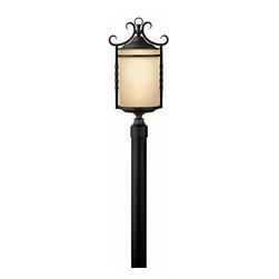 Hinkley Lighting - Hinkley Lighting 1141OL Casa Medium Outdoor Lantern in Olde Black - Hinkley Lighting 1141OL Casa Medium Outdoor Lantern in Olde Black