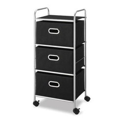Whitmor - 3 Drawer Chest Cart - Whitmor 3 Drawer Chest