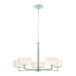 Vaxcel Lighting - Vaxcel Lighting H0001 Allerton 5 Light One Tier Chandelier - Features: