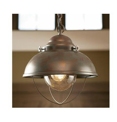 eclectic pendant lighting by Van Dyke's Restorers