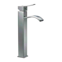 ALFI brand - ALFI brand AB1158 Single Lever Tall Square Bathroom Faucet Polished Chrome - Search no more - this single hole tall bathroom vessel faucet by ALFI brand offers the perfect combination of comfort and style. A curved spout and square body offer an Italian inspired design that fits your budget.