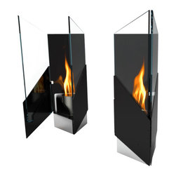 Decorpro - Pure Wall Mounted/Table Top Bio Ethanol Indoor/Outdoor Fireburner - Pure table top or wall mounted Fireburners / Firepots are stunning. Designed with a piano hinge and magnetic door to easily access the fuel receptical. Pure can be used with either a pillar candle, Organica Bio Safety Fuel or a Sunjel fuel canister.