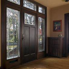 Traditional Front Doors by FRICANO CONSTRUCTION CO