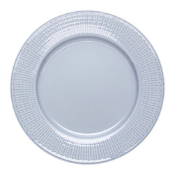 "iittala Swedish Grace Dinner Plate 10.6"" Ice - A design classic in six colours. This tableware still evokes the same emotions as when it was unveiled at the Stockholm Exhibition in 1930. Louise Adelborg succeeded in conveying the sensation of ears of wheat swaying in the summer breeze."