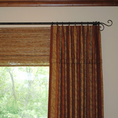 contemporary window treatments by Karlene Hunter Baum, Allied ASID