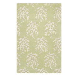 Somerset Bay - Somerset Bay Escape Hand Tufted Wool Rug X-3533-7003PSE - The Escape collection by Somerset Bay for Surya includes sophisticated rugs in beautiful coastal-inspired palettes. These hand tufted rugs feature patterns of Starfish, Coral, and Whimsical Seaweed. One look at this collection of rugs and you are transported to a calming coastal retreat, bringing to mind that feeling of summers spent in the sun and surf. Whether you are decorating your own coastal cottage, or just want that coastal feel in your home, any rug from this collection will be the perfect choice.