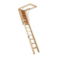 Century 8 9 Ft Truss Wooden Attic Stair The Century 8 9