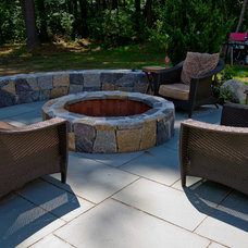 Contemporary Fire Pits by Hillside Nurseries