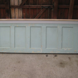 Headboards made from old doors - Headboards made from old doors