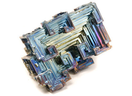 eclectic accessories and decor Lab Grown Bismuth Crystals