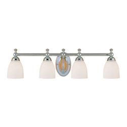 Millennium Lighting - Millennium Lighting 624 4 Light Bathroom Vanity Light - Features: