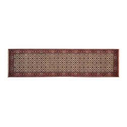 1800-Get-A-Rug - Fine Bidjar Mahi Oriental Rug Wool and Silk Hand Knotted Rug Runner Sh13357 - About Wool Pile