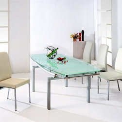 Hani Expandable Dining Set - 4 Chairs and Expandable Dining Table - Hani Expandable Dining Set - 4 Dining Chairs and Expandable Dining Table