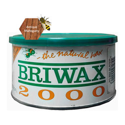 "Briwax international - Briwax Toulene Free 16oz (available in 7 colors), Antique Mahogany, 16 Oz - Briwax is a solvent based blend of beeswax and carnauba wax for use on bare wood or previously sealed surface. Can also be used as a maintenance wax. Briwax has long been recognized by furniture restoration professionals as a premiere, multi-purpose furniture wax. It produces a lustrous patina, not a glossy surface shine. It is suitable for use as a finish on new wood or stripped furniture, a reconditioner for old or damaged finishes, a furniture wax for fine furniture and antiques or an antiquing agent where the desire is to ""age"" a newly painted carving or project."