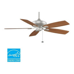 """Fanimation - Fanimation Edgewood Decorative 52"""" 5 Blade Energy Star Ceiling Fan - Blades Incl - Included Components:"""