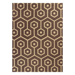 KAS - Kas Natura 2261 Mocha Mosaic Rug - 6 ft 6 in x 9 ft 6 in - Kas Natura 2261 Mocha Mosaic Area Rug. Kas Natura 2261 Mocha Mosaic Area Rug. Our KAS Natura rugs pump up Eastern Indian motifs for a colorful, casual look. These vivid works of art will add fun and function to your room setting in fresh, updated colorations. Natura rugs have been machine woven in India, ensuring the heavy-duty jute construction provides durability and rich texture for your active lifestyle. Each modern Natura rug is ready to make a wow-statement in your contemporary space.