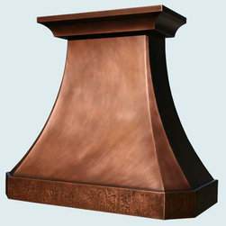 Copper Hood | Handcrafted Metal - Handcrafted Metal makes custom copper hoods in a variety of styles. We can make them to perfectly accommodate your kitchen, no matter how complicated. With us you can fully customize the size and features according to your vision, and the price will be adjusted to your specifications.