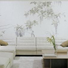 Asian  by HandPainted Wallpaper - Yrmural Studio