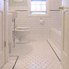 mirrormirror: The Big Bathroom Remodel: Hexagon Tiles