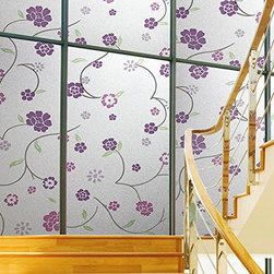 Premium No-Glue Static Decorative Privacy Window Films - Instruction: