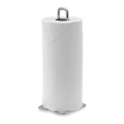 "Blomus - Wires Paper Towel Holder - Durable and sturdy, this stylish Wires Paper Towel Holder would be an excellent addition to any kitchen. This charming paper towel holder is ideal for standard size paper towels. Features: -Steel wire, chrome plated -Ideal for standard size paper towels -Overall Dimensions: 12.2""H"