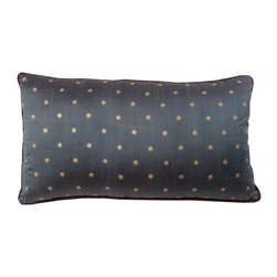 SOLD OUT! Custom Navy & Burgundy Pillow with Stars - $580 Est. Retail - $349 on -