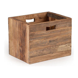 Taos Storage Box - This box is hard to beat for stylish, rustic storage and sorting. Fill it up with papers, supplies, and various doodads, and it will still look great with its old-fashioned, sturdy construction and soft, weathered oak finish.