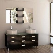 """My Style / Wellington 55"""" Double Sink Vanity Set"""