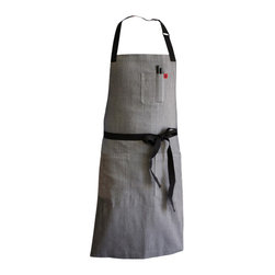 Pho Apron - Named after the delicious Vietnamese soup.  The Pho apron is clean,simple, comfortable and durable.
