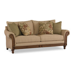 Hooker Furniture - Hooker Furniture Windward Sofa 1125-52013 - Envision furniture with a relaxed and laid back feeling