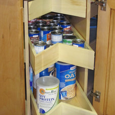 cabinet and drawer organizers by Old School Cabinets