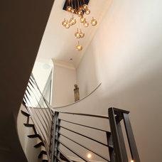 Contemporary Staircase by Daher interior Design