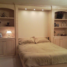 Modern Beds by F&C Custom Cabinets Inc