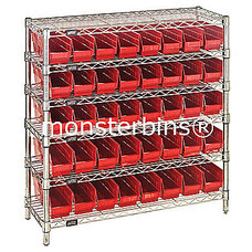 Traditional Utility Shelves by Monster Bins®