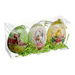 Silk Plants Direct - Silk Plants Direct Easter Egg Ornament (Pack of 18) - Silk Plants Direct specializes in manufacturing, design and supply of the most life-like, premium quality artificial plants, trees, flowers, arrangements, topiaries and containers for home, office and commercial use. Our Easter Egg Ornament includes the following: