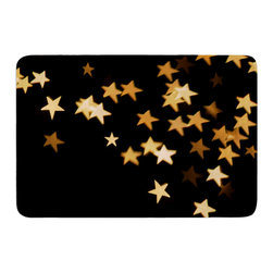 """KESS InHouse - Skye Zambrana """"Twinkle"""" Memory Foam Bath Mat (17"""" x 24"""") - These super absorbent bath mats will add comfort and style to your bathroom. These memory foam mats will feel like you are in a spa every time you step out of the shower. Available in two sizes, 17"""" x 24"""" and 24"""" x 36"""", with a .5"""" thickness and non skid backing, these will fit every style of bathroom. Add comfort like never before in front of your vanity, sink, bathtub, shower or even laundry room. Machine wash cold, gentle cycle, tumble dry low or lay flat to dry. Printed on single side."""
