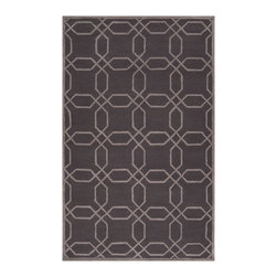 Surya - Surya Mezzo MZO-6001 (Cobble Stone, Wenge) 8' Round Rug - Surya's Mezzo collection was inspired by whimsical designs and creative detailing which makes it a unique piece. Hand tufted in China this elegant area rug is a great piece of added decor in your casual area.