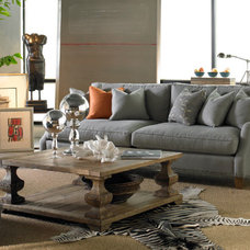 eclectic sofas by THE ARTFUL LODGER
