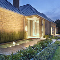 Contemporary Entry by Chris Lewis Architecture