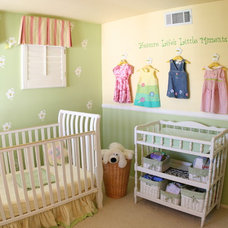 traditional nursery by Janice Peters, Distinctive Decor