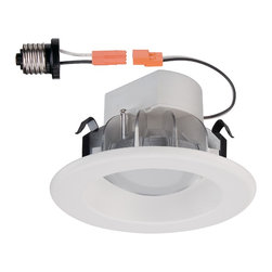Designers Fountain - Designers Fountain LED4741-WH White 3 Height IC Rated LED New Construction / Rem - Bulb Base and Compatibility: LED - Light Emitting Diode: Highly efficient diodes produce little heat and have an extremely long lifespan. The Designers Fountain Story: