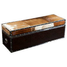 Rustic Footstools And Ottomans by Great Deal Furniture