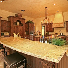 Mediterranean Kitchen by Classical Home Design, Inc. by Susan Berry