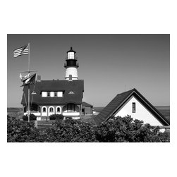 Cape Williams Lighthouse #2, Limited Edition, Photograph - Cape Williams Lighthouse Maine, Limited signed edition of 20, printed on archival rag paper.