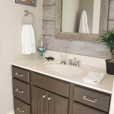 Benjamin Moore Thunder Gray Bathroom Paint Color