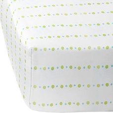 Citrus Pebble Crib Sheet| Serena & Lily