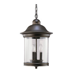 Sea Gull Lighting - Sea Gull Lighting 60081 Classico Outdoor Hanging Lantern - Sea Gull 60081-71 Bronze Ceiling Lighting