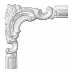Renovators Supply - Door Trim White Urethane Door Trim Corner | 10517 - Door Trim: Made of virtually indestructible high-density urethane our door trim molding is cast from steel molds guaranteeing the highest quality on the market. High-precision steel molds provide a higher quality pattern consistency, design clarity and overall strength and durability. Lightweight they are easily installed with no special skills. Unlike plaster or wood urethane is resistant to cracking, warping or peeling.  Factory-primed our door trim molding is ready for finishing. Measures 8 inch H x 1 9/16 inch W x 8 inch L. (Coordinates with door trim molding 10518.)