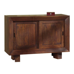 Modus Furniture - Modus Palindrome Sideboard in Chestnut - Modus Furniture - Buffet Tables and Sideboards - 5F3073
